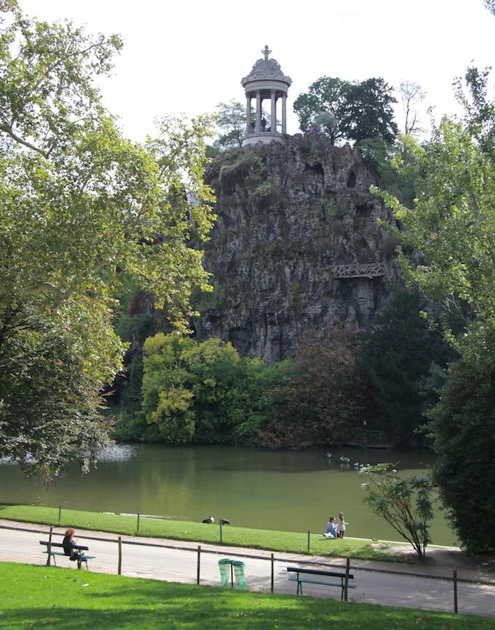 Parc des Buttes-Chaumont, Parigi