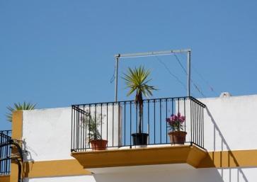 un terrazzo a Santa Gertrudis