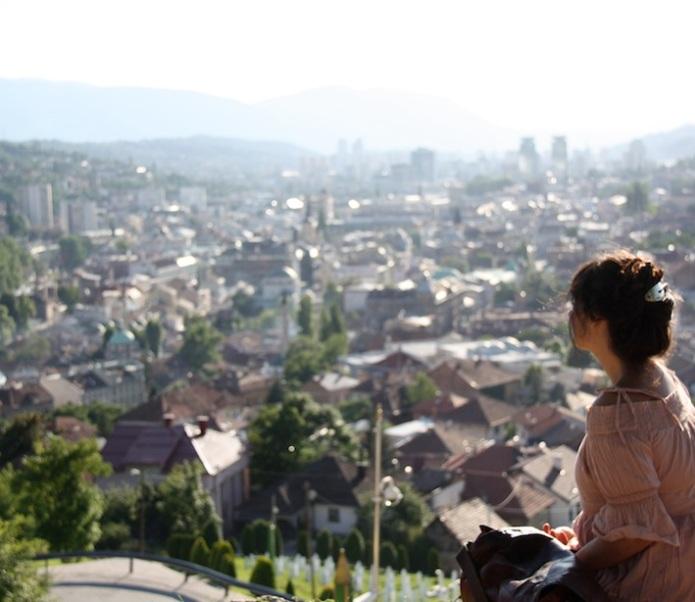 Sarajevo dal forte