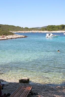 una delle spiaggette di Mlini