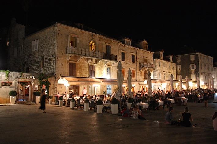 uno dei mille ristorantini della città