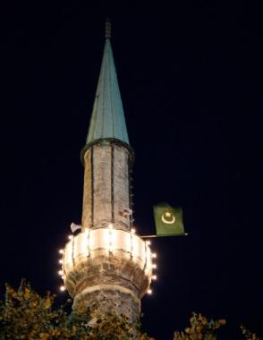 un minareto nella Baščaršija