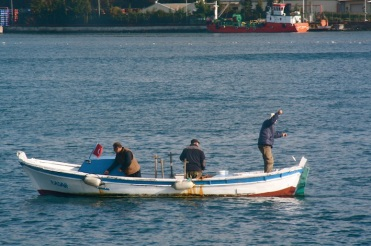 pescatori sul Bosforo