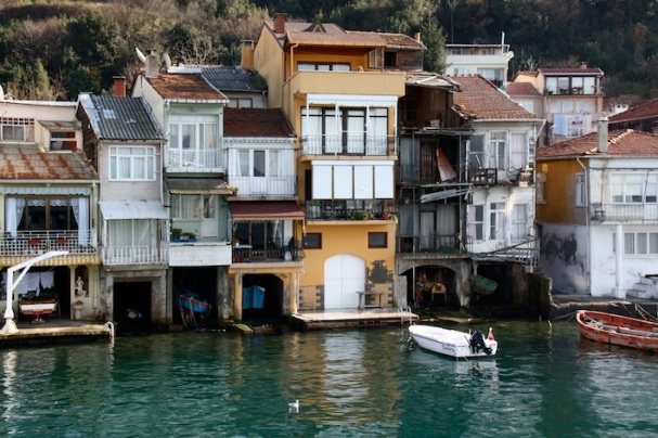 le case dei pescatori di Anadolu Kavağı