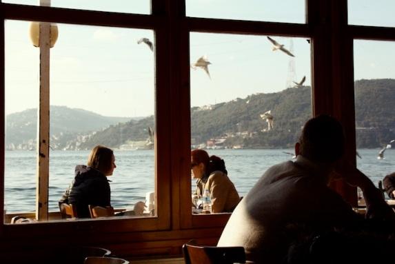 uno dei tanti ristoranti di Anadolu Kavağı