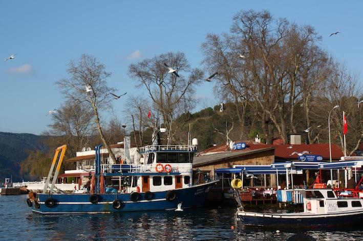 il porticciolo di Anadolu Kavağı