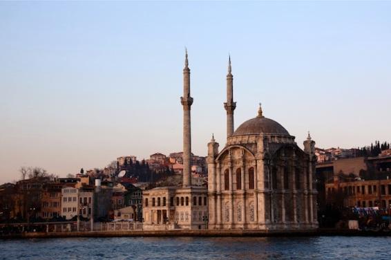 la moschea di Ortaköy vista dal vapur