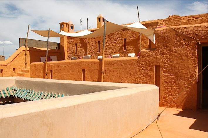 la terrazza del riad Dar Cherifa