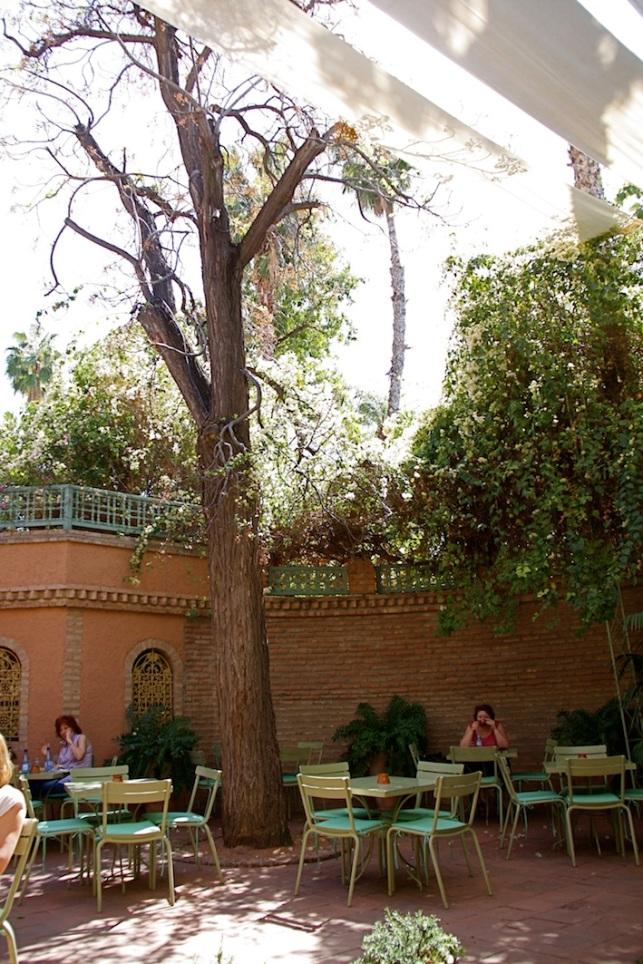 il caffé del Jardin Majorelle