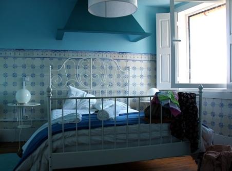 la nostra deliziosa camera azzurra
