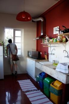 la bellissima e spaziosa cucina