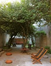 il giardino dove fare anche colazione