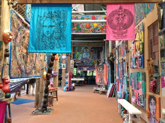 Atelier d'arista a Ubud
