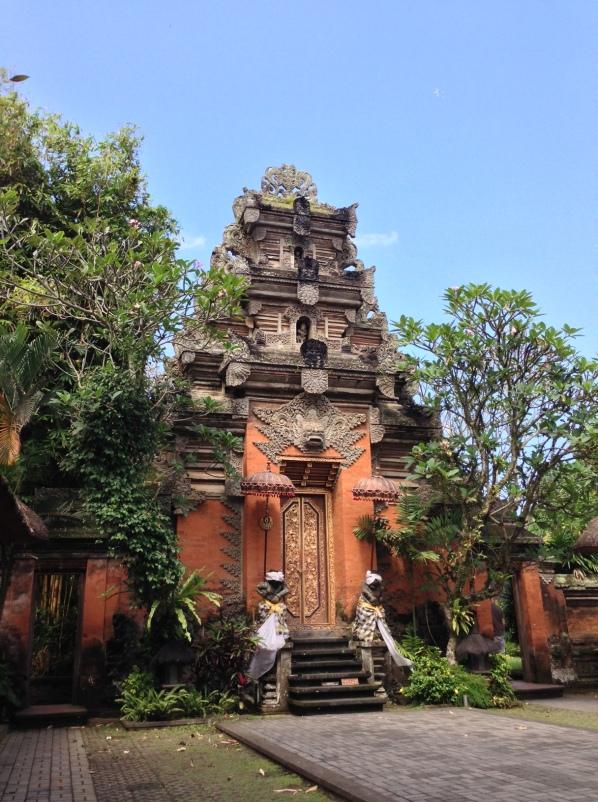 Ubud, l'ingresso del palazzo reale