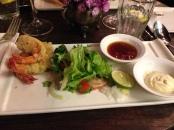tempura di gamberi