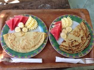 colazione alle isole Gili con la deliziosa frutta locale