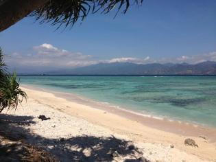 Le spiagge stupende di Gili Trawangan
