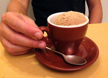 il gelato al caffè