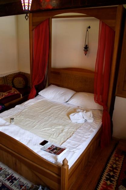 il nostro letto ormai disfatto