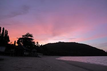 alba a Chumphon, prima di imbarcarsi per Koh Tao