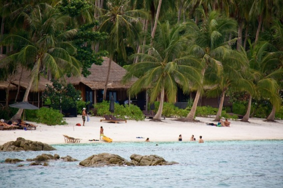 uno dei tanti resort di Koh Tao