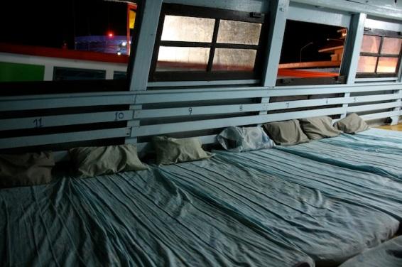 """la """"caratteristica"""" night boat per Surat Thani"""