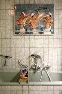 uno dei quattro bagni