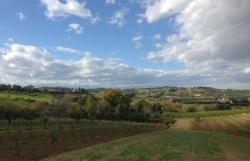 le bellissime colline intorno a Santarcangelo