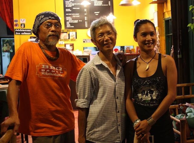 i proprietari della Bamboo Mexican House