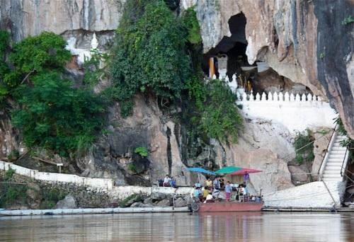 Le Pak Ou Caves, poco prima di Luang Prabang