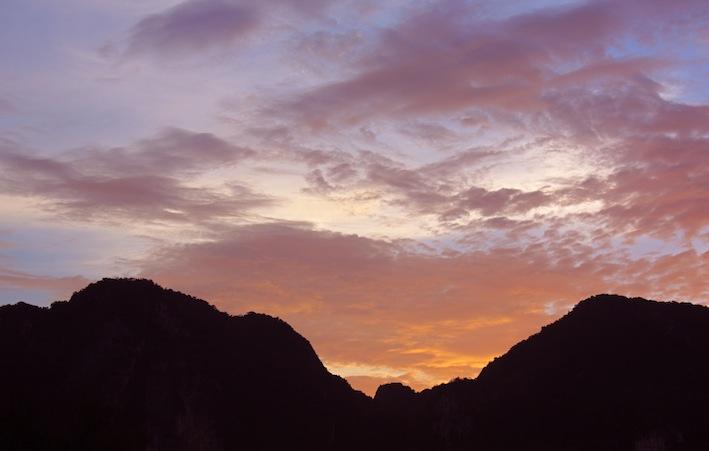 tramonto a Koh Phi Phi Don