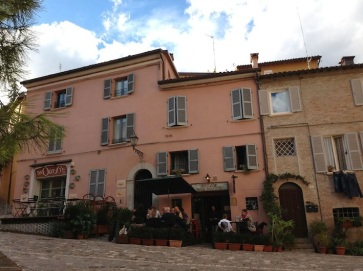 Piazzetta a Santarcangelo