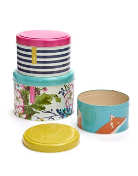Cake tins / 30 sterline http://www.joules.com/