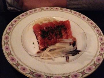 sashimi style