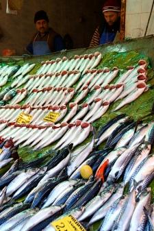 il mercato del pesce, Kadıköy