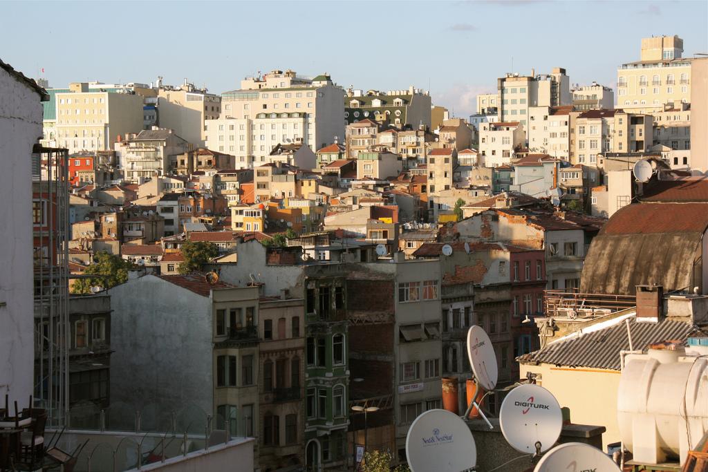 Beyoğlu dall'alto
