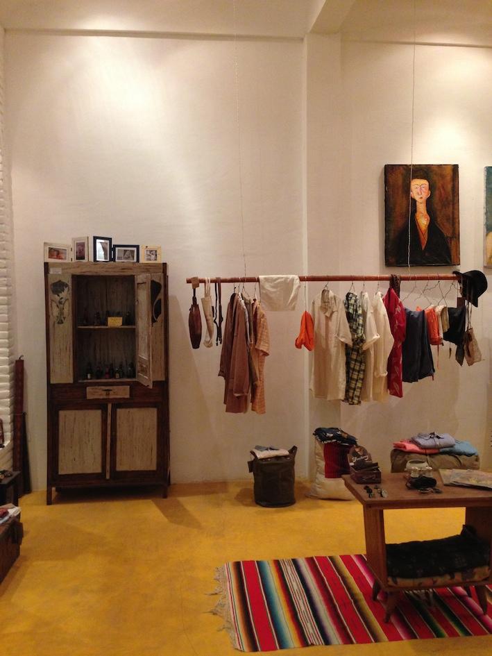 l'interno del Casa Vintage
