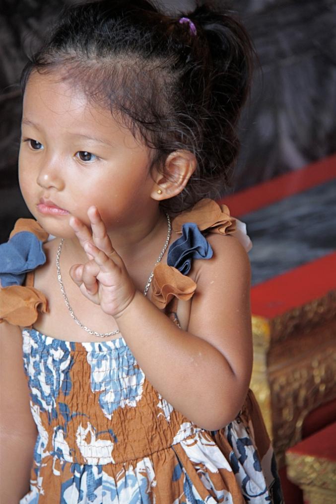 lo spirito thailandese nelle piccole leve