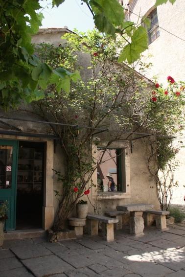 un atelier a Groznjan