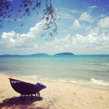 Otres Beach a Sihanoukville