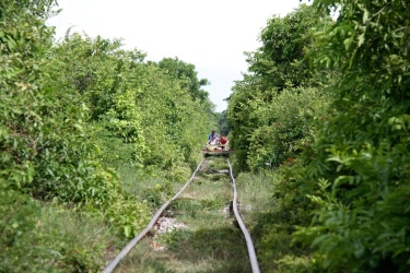 il bamboo train a Battambang