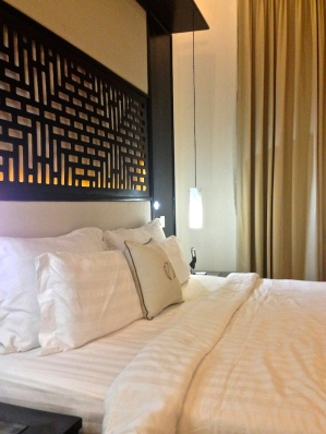 il letto della junior suite