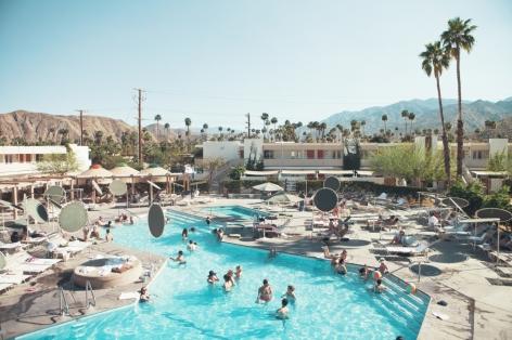 lo Swim Club dell'Ace Hotel